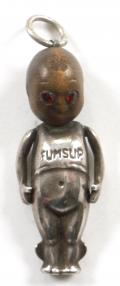 WW1 Fumsup Touch Wood Lucky Charm Pendant.