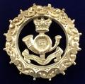 51st Yorkshire Light Infantry, 1892 Hallmarked Hollow Silver Victorian Sweetheart Brooch.