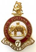 7th Battalion Duke of Wellington's (West Riding Regiment) Territorial Force Old Comrades Association Lapel Badge.