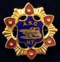 WW1 Army Service Corps Mechanical Transport, ASC Army Truck Sweetheart Brooch.