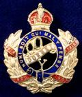 WW1 The Queen's Own Dorset Yeomanry Sweetheart Brooch.