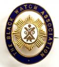 'The Black Watch Association' Early Pattern Membership Badge by J.R.Gaunt London.