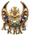 WW1 'Battle of Arras' French Sweetheart Brooch.