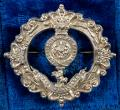 Boer War Royal Fusiliers 1899 Hallmarked Hollow Silver Antique Regimental Sweetheart Brooch in Presentation Case.