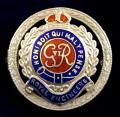 WW2 Royal Engineers Regimental Silver & Enamel Sweetheart Brooch.