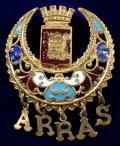 WW1 Battle of Arras French sweetheart brooch