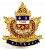 Canadian CEF 69th Infantry Battalion sweetheart brooch