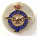Royal Air Force mother of pearl RAF sweetheart brooch