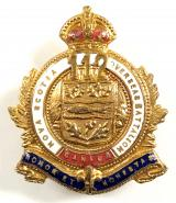 Canadian CEF 112th Infantry Battalion sweetheart brooch