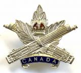 Canadian Machine Gun Corps silver sweetheart brooch