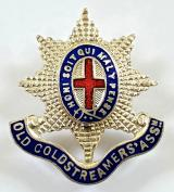 Old Coldstreamers Association Coldstream Guards lapel badge