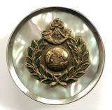 Royal Marine Light Infantry mother of pearl silver rim RMLI sweetheart brooch