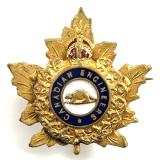 WW1 Canadian Engineers CEF gilt sweetheart brooch