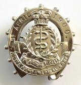 Royal Army Medical Corps South Africa 1900 silver sweetheart brooch