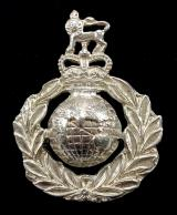 EIIR Royal Marines silver sweetheart brooch by Dalman & Narborough